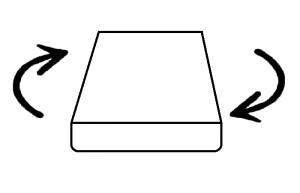 Двулицев матрак